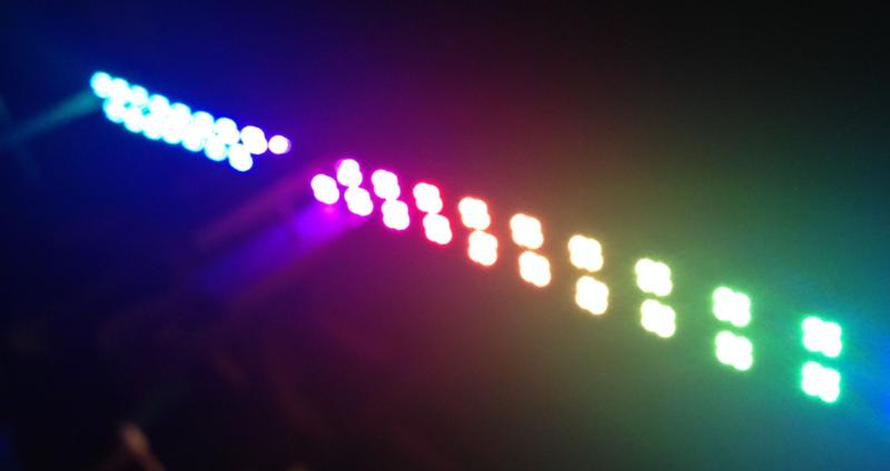 Illuminated teeter-totter